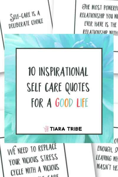 10 inspirational self care quotes for social media