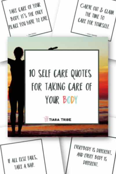 10 social media self care quotes for taking care of your body