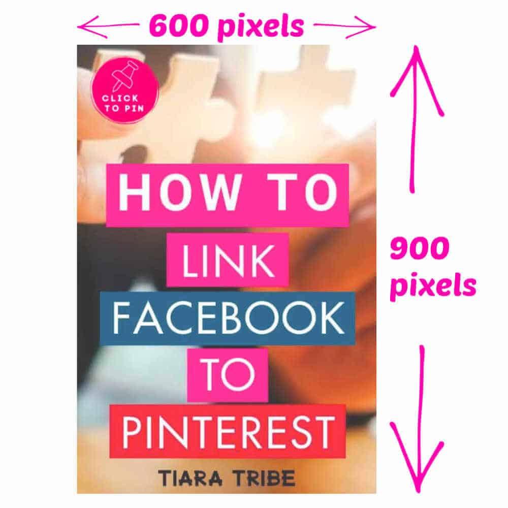 My standard Pinterest image size
