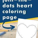 Get this join-the-dots heart coloring page