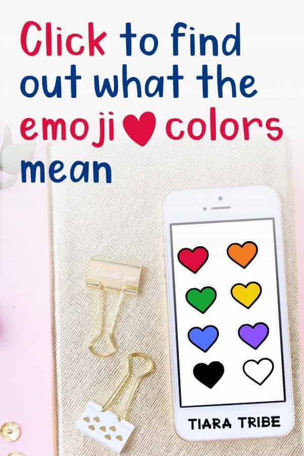 Click to find out what the emoji heart colors mean