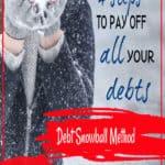 Debt Snowball Method | Free 2-page printable