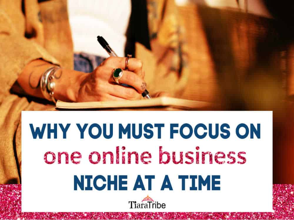 Why you must focus on one online business niche