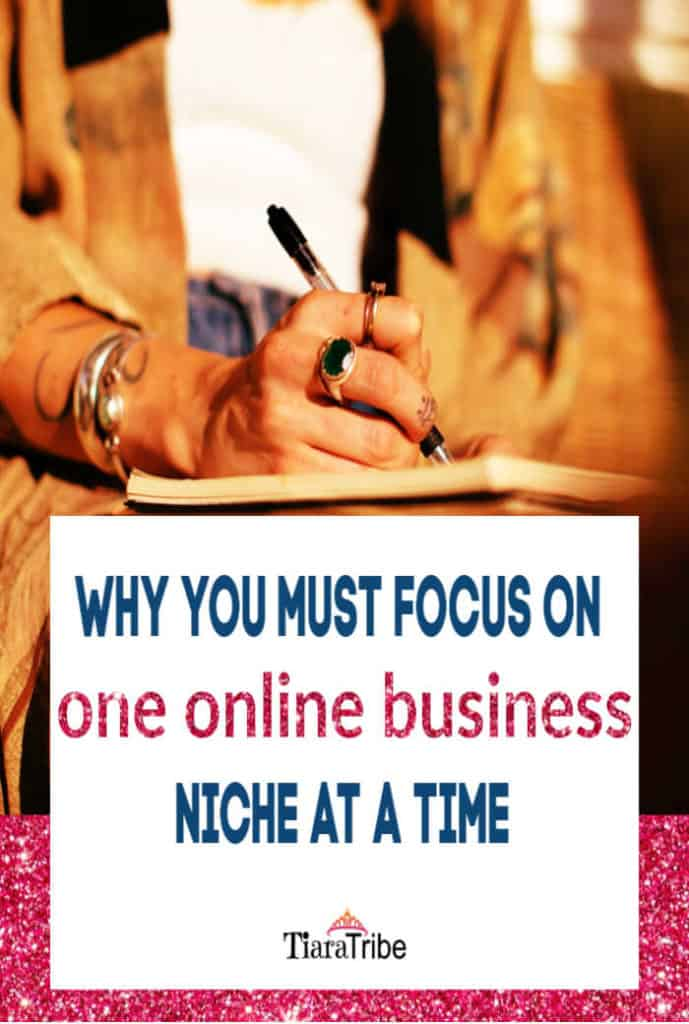 Why you need to focus on one online business niche