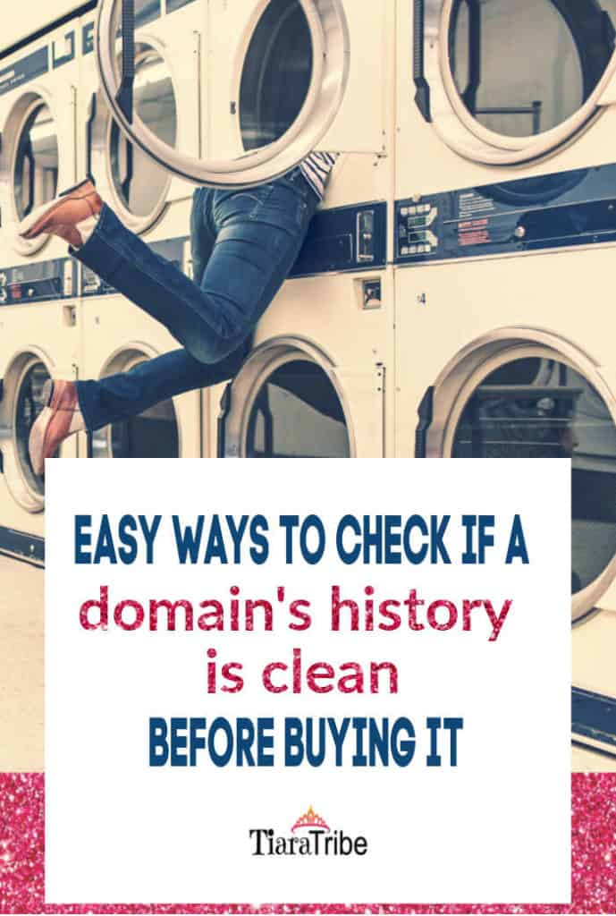 How to buy a domain name that's clean (no spammy past) | online business | branding | buy a domain #domainname #buyadomainname #onlinesecurity