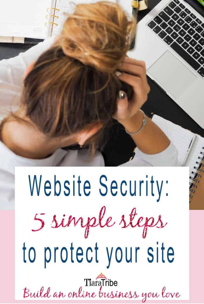 Website Security | 5 steps to protect your site
