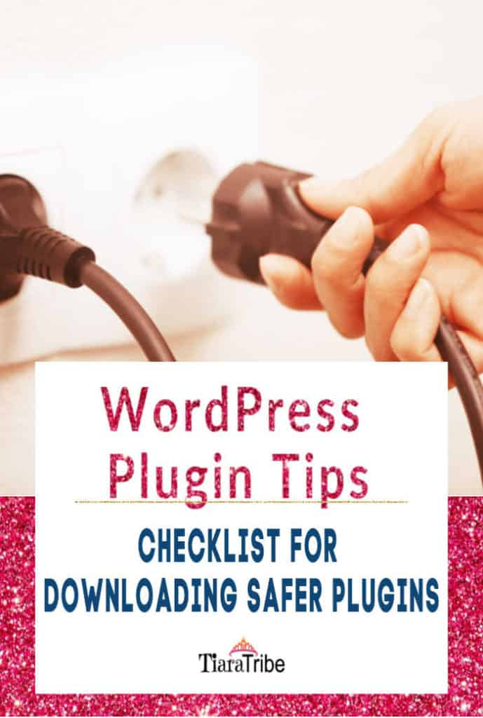 WordPress Plugin Tips | Your 5-point checklist for downloading safer plugins