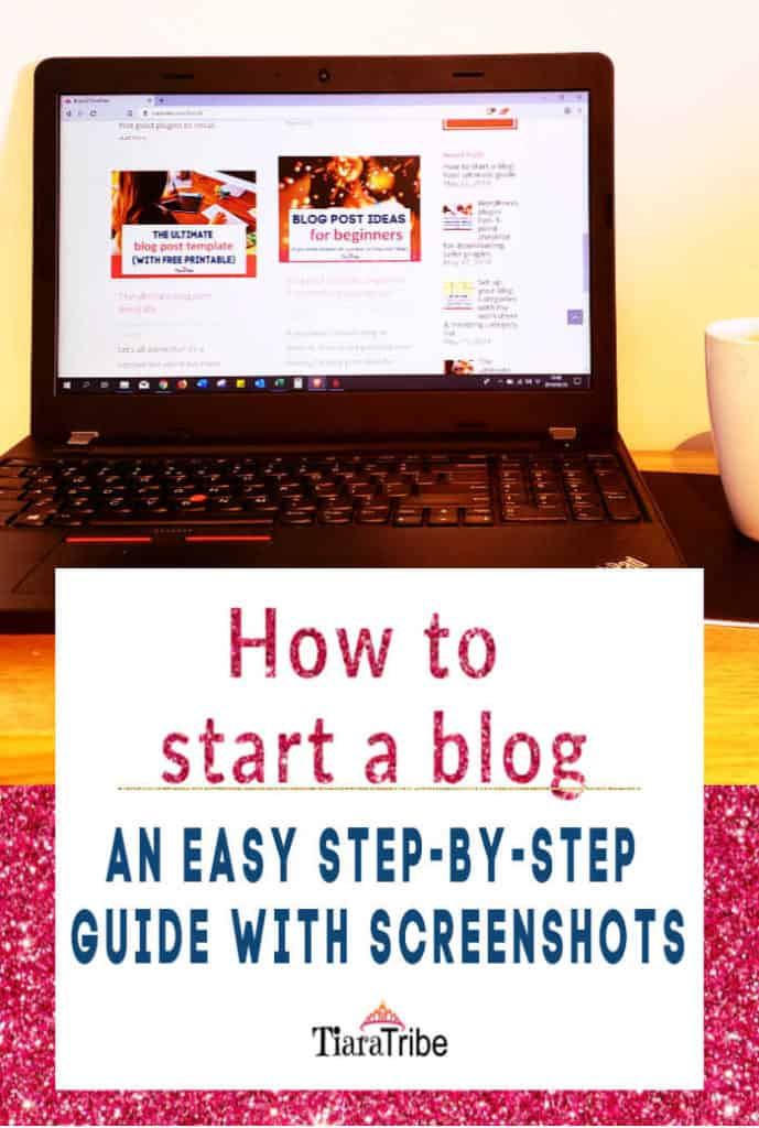 How to start a blog | An easy step-by-step guide
