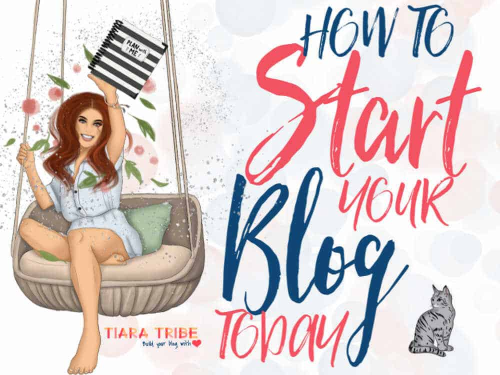 How to start your blog today, step by step
