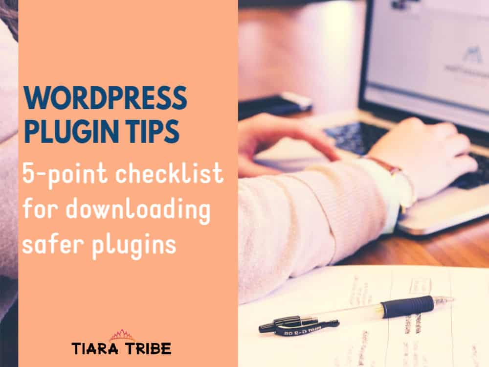 WordPress Plugin Tips | Free checklist to download