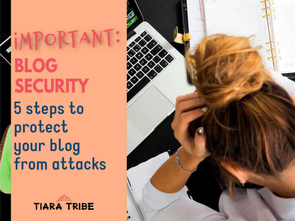 Website Security: 5 simple steps to protect your site