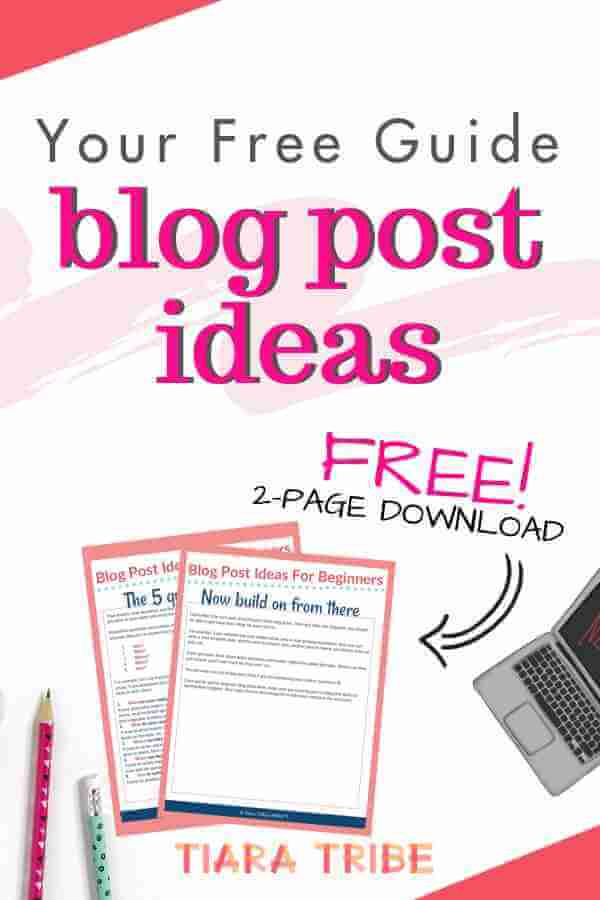 How to come up with ideas for blog posts - a writer's proven system