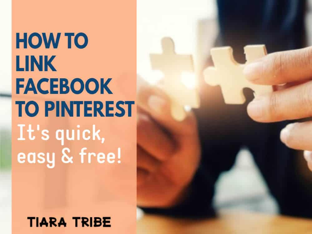 How to link Facebook to Pinterest (quick, easy, free)