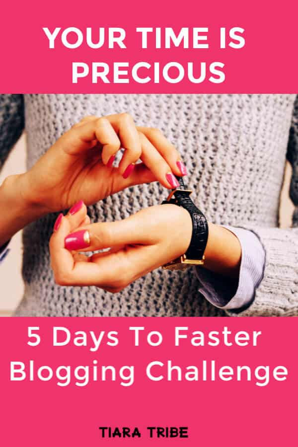 Five Days To Faster Blogging Challenge