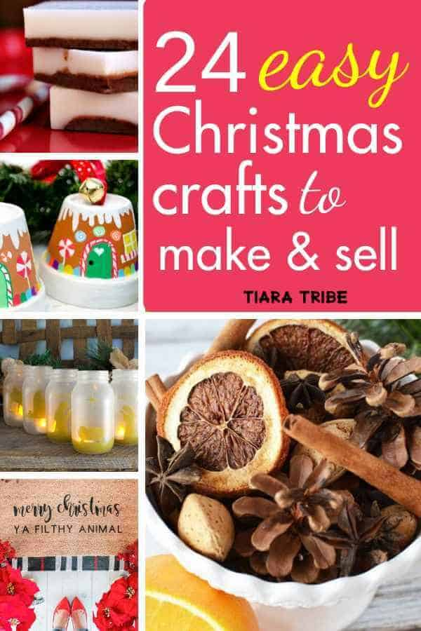 24 easy Christmas crafts to make and sell, from decorations to wreaths