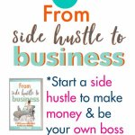 Ideas and how to start a side hustle and start a business for beginners