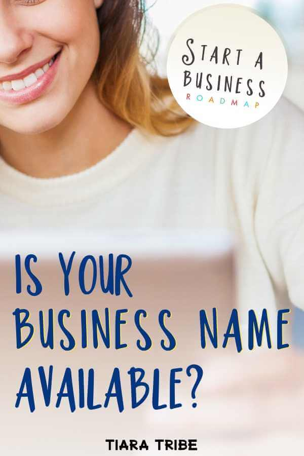 How to check to see if your business name is available for registration