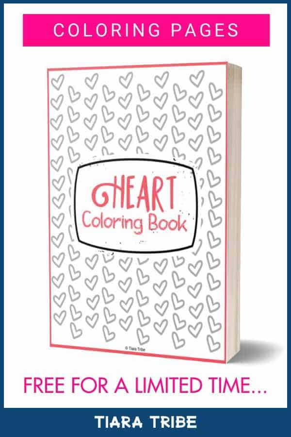 20+ hearts to color in - download as a PDF file and print it out