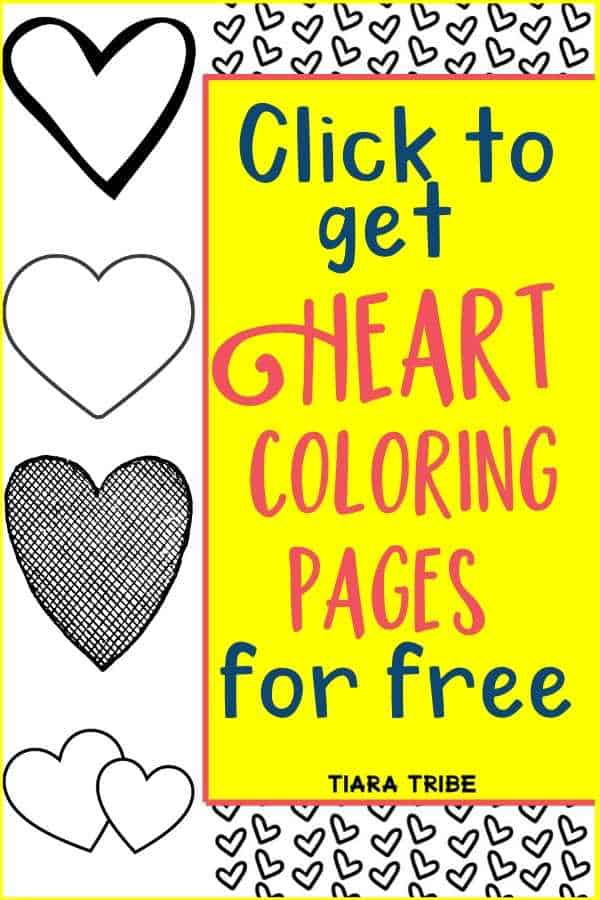 Download and print these heart coloring pages