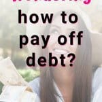 Wondering how to pay off your debt? Here's a step-by-step guide for motivation and a printable worksheet to use this easy method