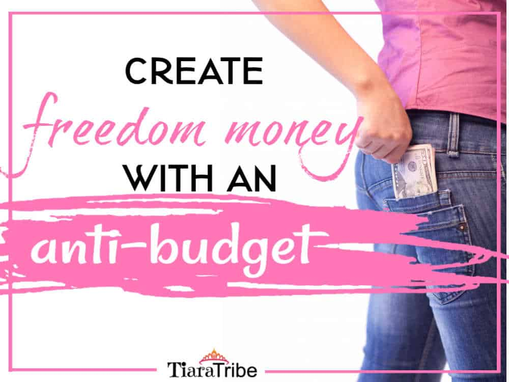 Create Freedom Money With An Anti-Budget