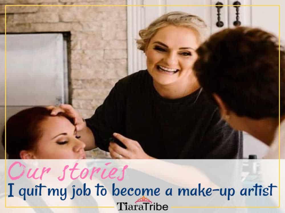 I'm a full-time traveling make-up artist