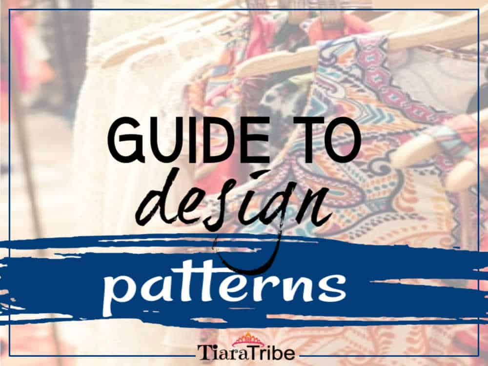 Design guide to patterns: How they look & what they're called