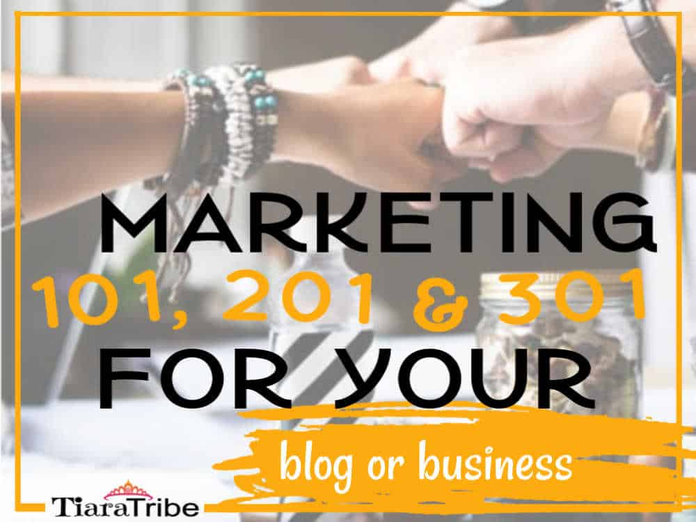 How to market your blog or business