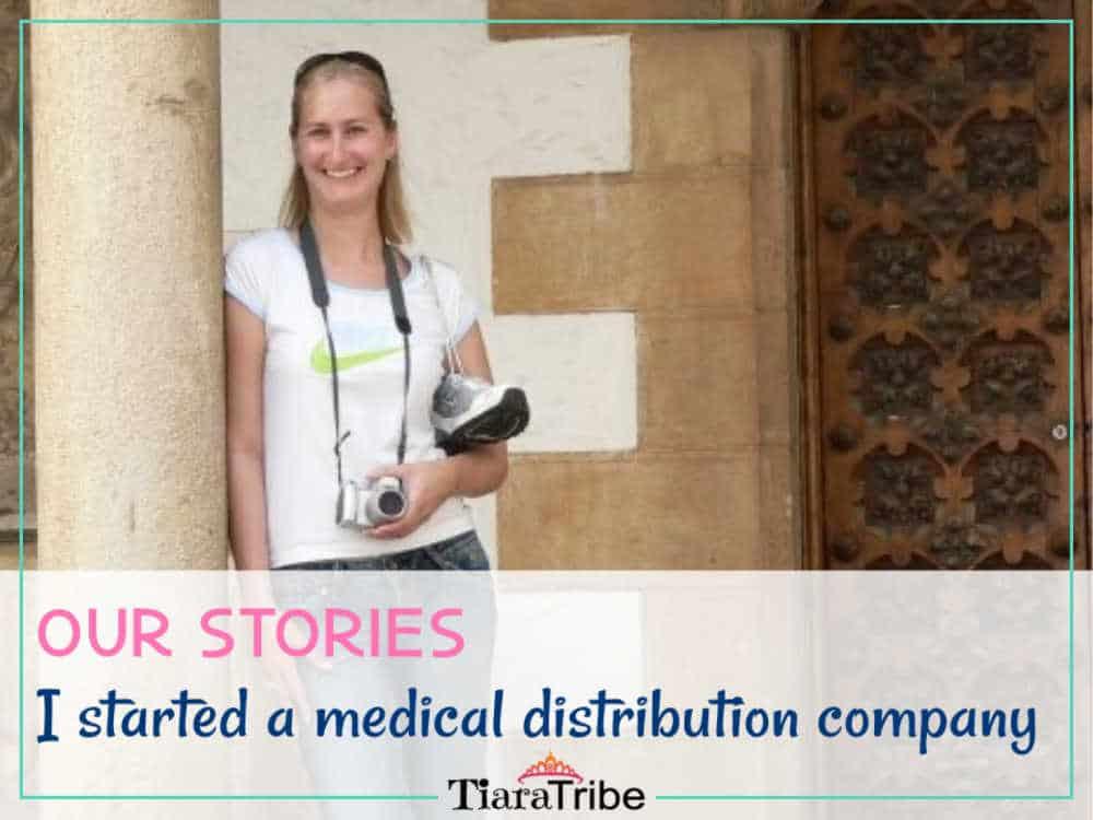 I started a medical distribution company