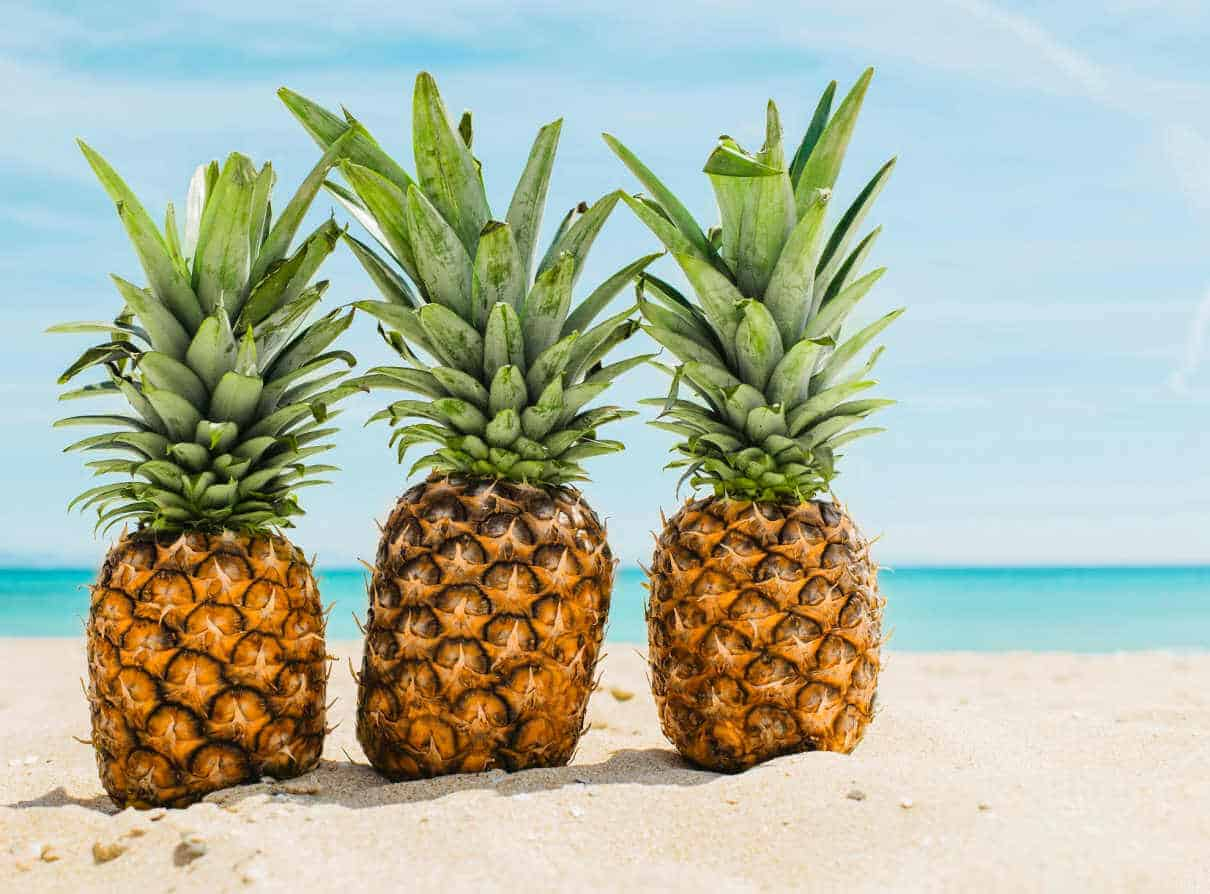 Pineapples are packed full of healthy goodness