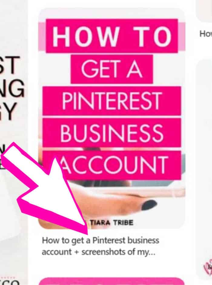 My pin showing a description for a rich pin in Pinterest on Pinterest