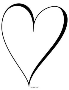 Heart Coloring Pages | Free Printables!