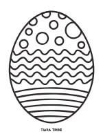 Easter Egg Coloring 4