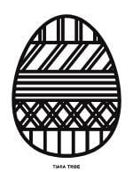 Easter Egg Coloring 7