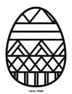 Easter Egg Coloring 8