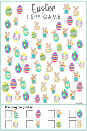 Easter I Spy Game 1 - A great Easter Activity