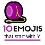 10 Emojis that start with Y