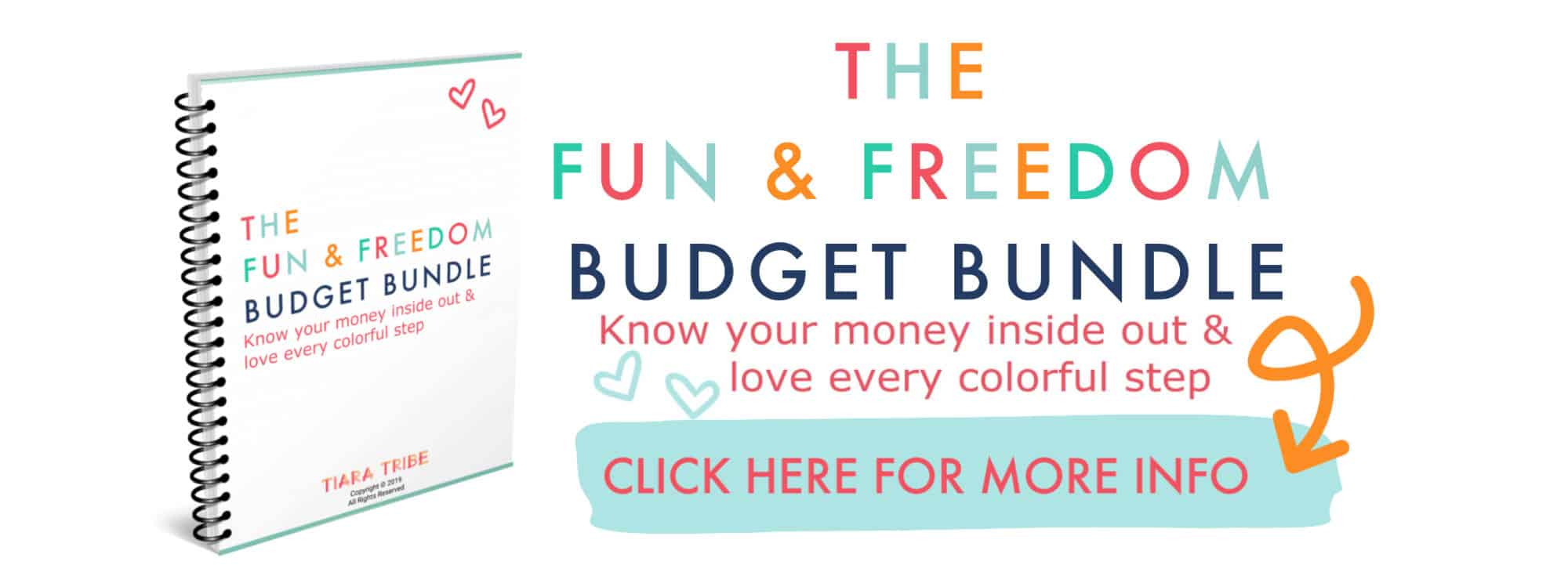 Fun and Freedom Budget Bundle Advert