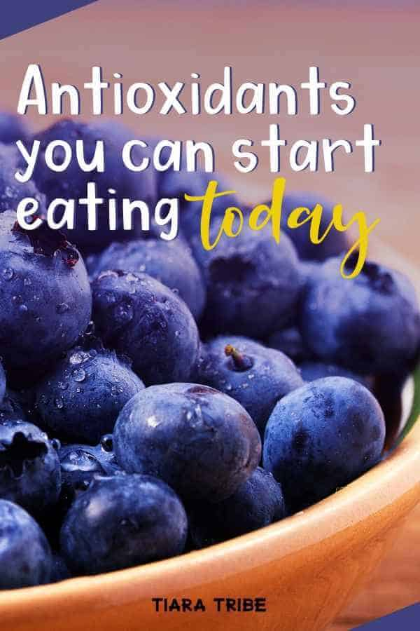 Get the free radical and antioxidant food list