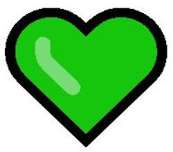 Green heart emoji meaning picture