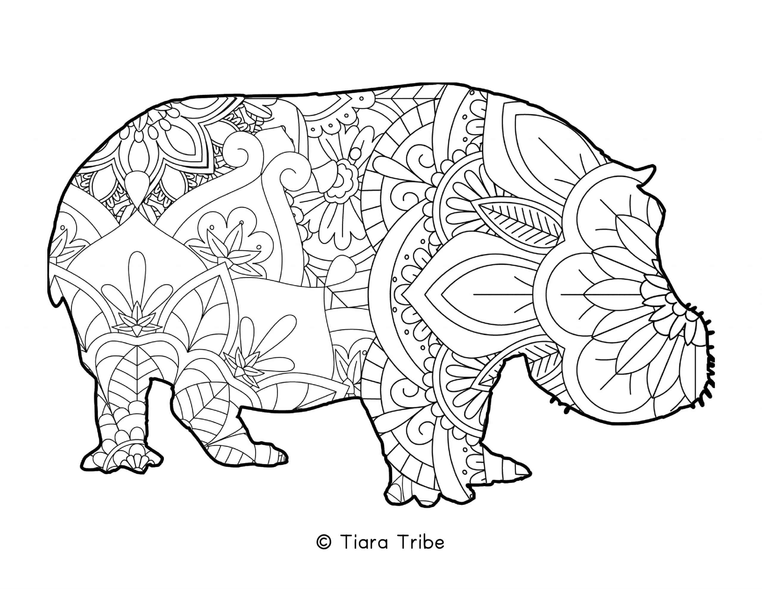 Best Free Animal Mandala Coloring Pages Pdfs To Download