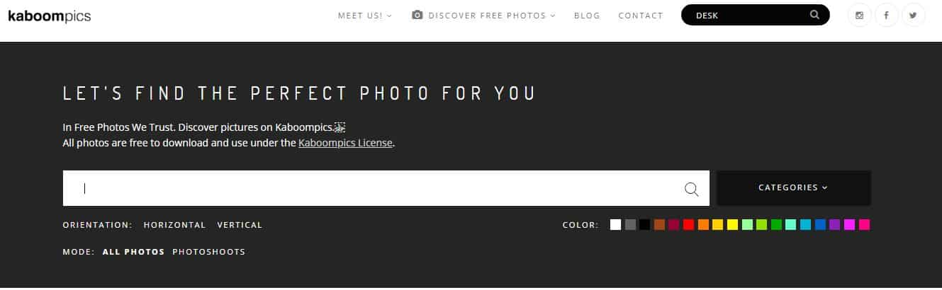 Stock photos for bloggers | 61 websites with photos for your blog