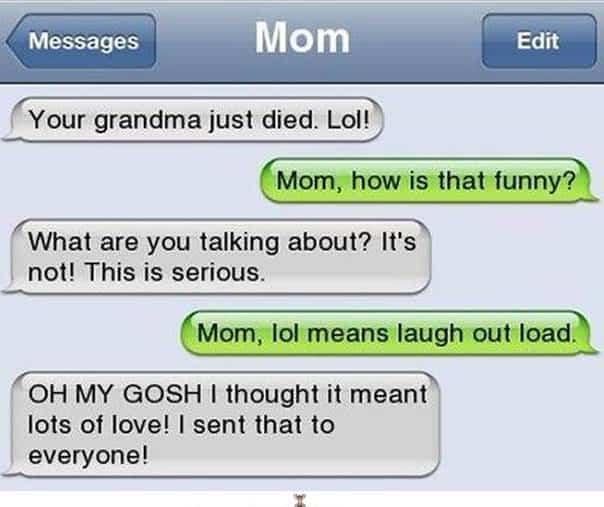 Mom Meme LOL | Choosing a brand name that makes sense