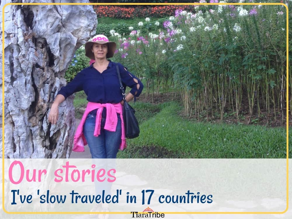 I've 'slow traveled' in 17 countries