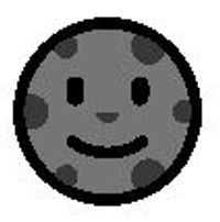 New moon face emoji meaning