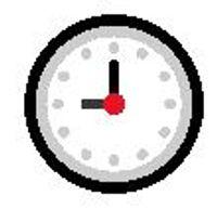Nine o'clock emoji meaning