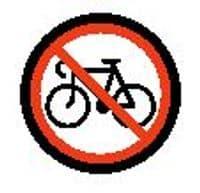 No bicycles emoji meaning