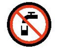 Non-potable water emoji meaning