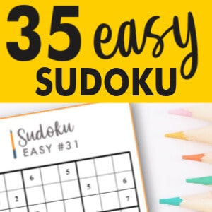 Get 35 Easy Sudoku puzzles online