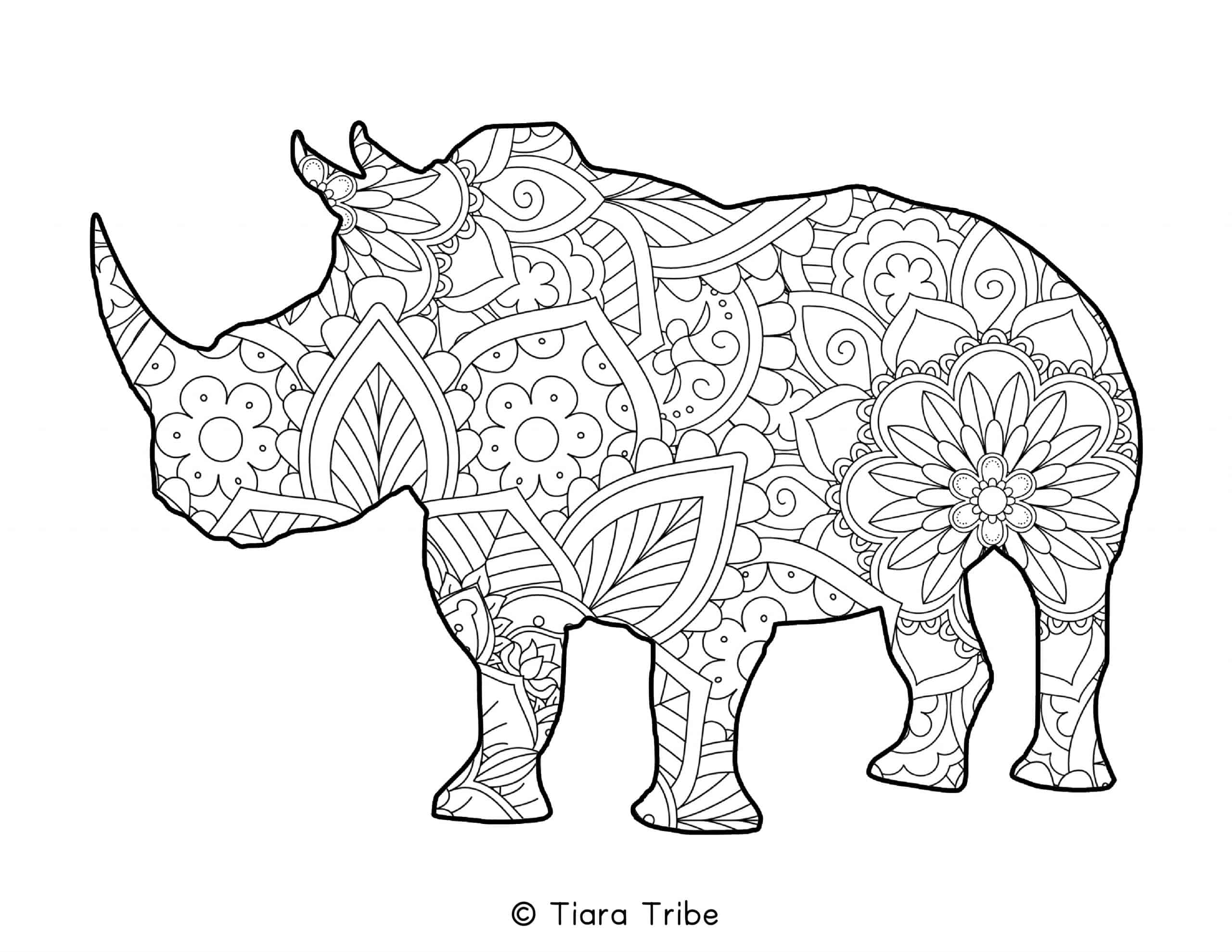 Best Free Animal Mandala Coloring Pages | PDFs to download